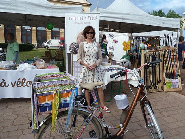 Fête du vélo Metz 2017stand Les filles à vélo
