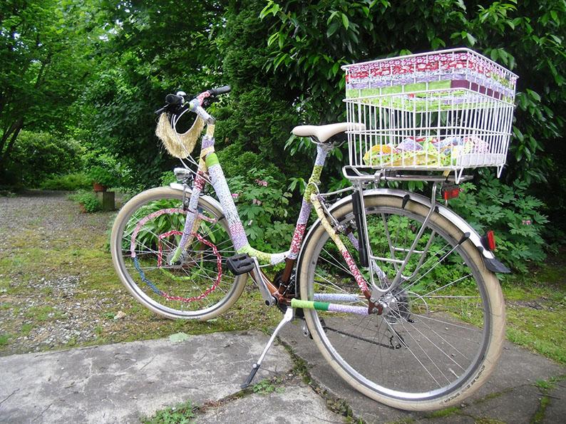 Fête du vélo Strasbourg, vélo décoré