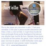 """CityRide N°33 - La jart'elle dans la rubrique """"infos"""""""
