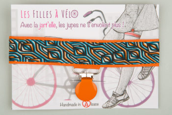 Jart'elle Liberty Torsten bleu pince orange