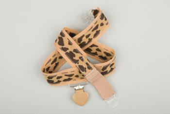 Jart'elle motif girafe fond beige