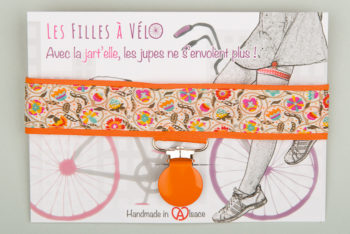 "Jart'elle Liberty ""Le temps viendra"" pince orange"