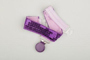 Jart'elle paillettes violette