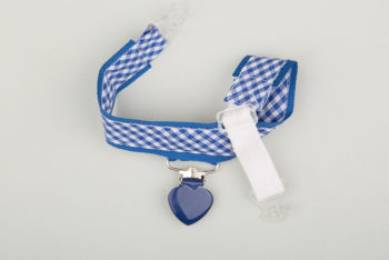 Jart'elle Vichy blanc bleu pince cœur