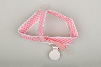 Jart'elle Vichy pastel rose et blanc