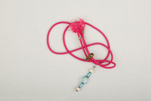 Pantastic rose fushia déco perles de verre