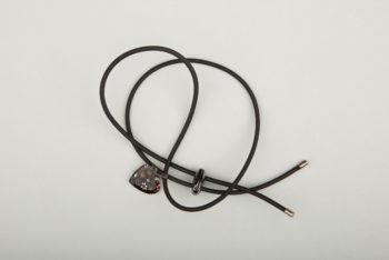 Pantastic noir déco cœur de verre style Murano noir