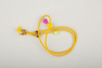 Pantastic jaune déco perles fantaisie couleurs acidulées