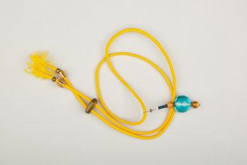 Pantastic jaune déco perles de verre