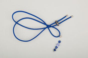 Pantastic bleu roi déco perles fantaisie bleues