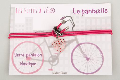 Pantastic rose déco cœur de verre style Murano transparent incrusté fleurs roses