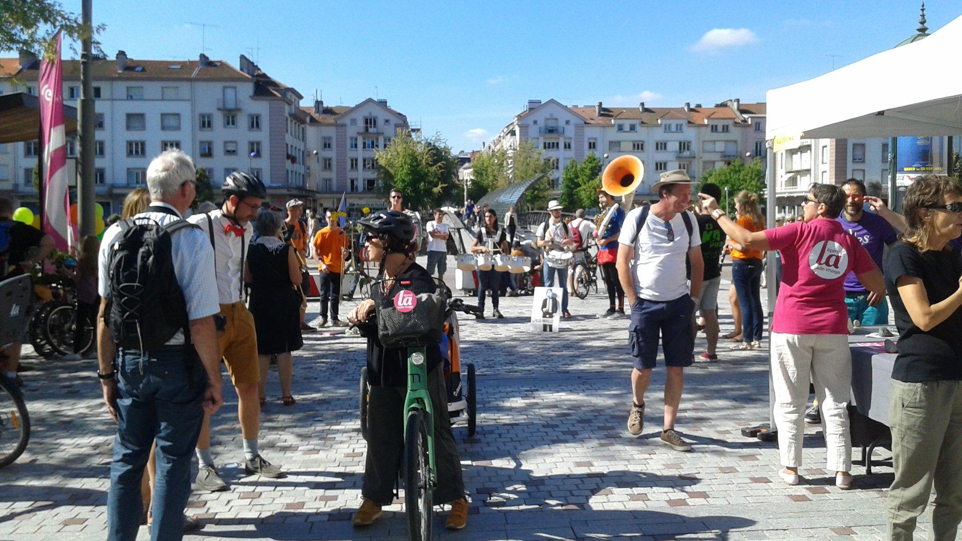 L'orchestre de l'ENSTIB a participé à la bonne humeur ambiante.