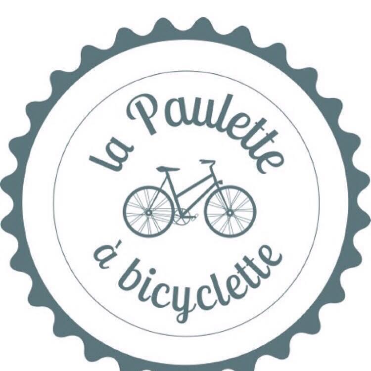 Logo balade de la Paulette à bicyclette