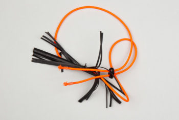 """Pantastic orange fluo déco chambre à air """"un petit d'air d'Halloween"""" - Les filles à vélo"""