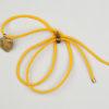 Pantastic jaune déco coeur pierre semi-précieuse épidote - Les filles à vélo