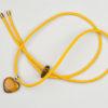 Pantastic jaune déco coeur pierre semi-précieuse Oeil de tigre (variété de quartz) - Les filles à vélo