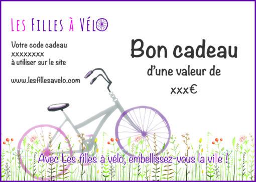 Bon cadeau Les filles à vélo