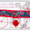 Jart'elle Liberty Nausicaa fond et pince rouge