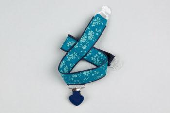 Jart'elle Liberty Capel bleu bleu canard fond et pince bleu marine