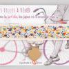 Jart'elle Liberty Dancing Kites multicolores pince coeur