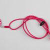 Pantastic rose fushia, perles et fleurette Liberty