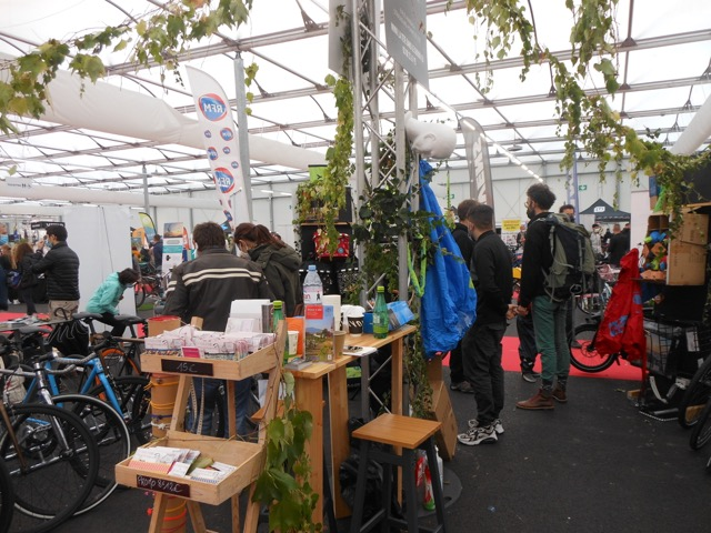 Expo du vélo Strasbourg 2020 - Stand La tête dans le guidon