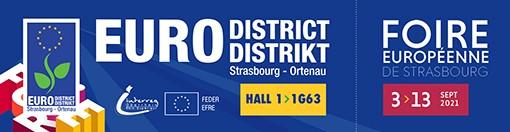 Foire européenne de Strasbourg 2021 - Eurodistrict